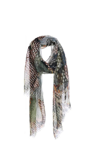 My Bargain Boutique Green Chic Soft Animal Pattern Print Scarf