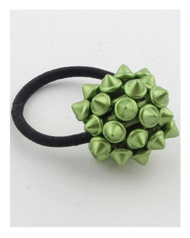 My Bargain Boutique Green Hair Elastic w/Spike Ball