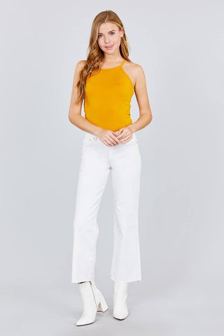 Image of My Bargain Boutique Halter Neck Knit Top