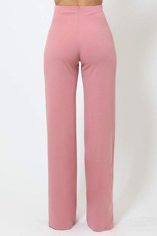 Image of My Bargain Boutique High-Waist Crepe Pants