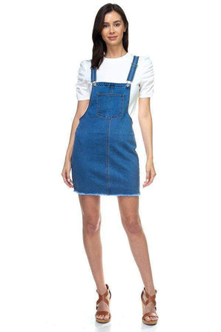 Image of My Bargain Boutique Mini Denim Overalls