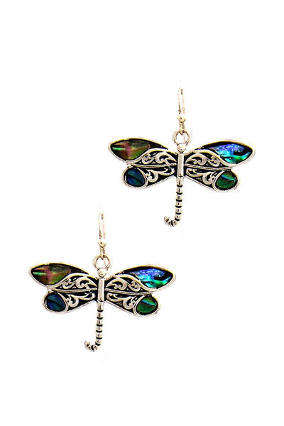 Women's Fashion Dragonfly Drop Earring - My Bargain Boutique