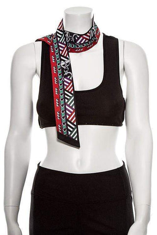 My Bargain Boutique Multi Functional Mix Print Skinny Scarf