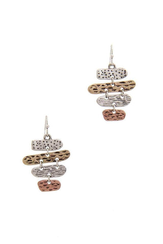 My Bargain Boutique Multi Oval Dangle Drop Earring
