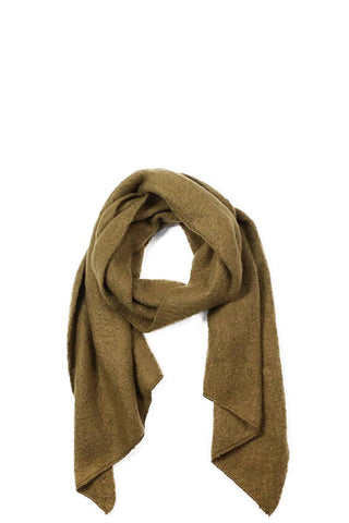 My Bargain Boutique Olive Chic Fashion Solid Scarf