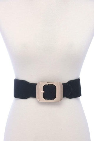 My Bargain Boutique Olive Fashion Stretch Chic Belt