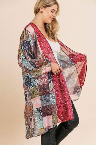 Image of My Bargain Boutique Open Kimono