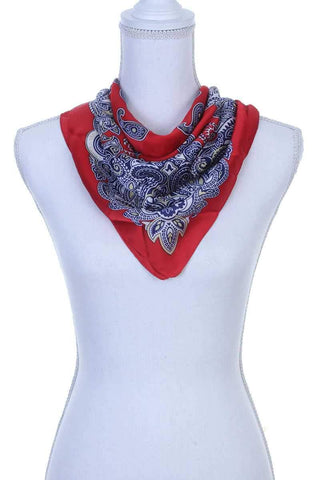 Image of My Bargain Boutique Paisley Pattern Bandanna Scarf