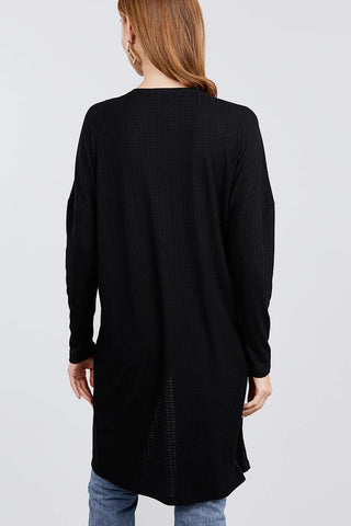 Image of My Bargain Boutique Pointelle Cardigan