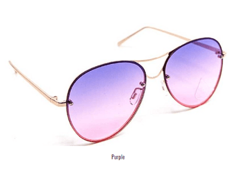Image of My Bargain Boutique Purple Modern Princess Sunglasses
