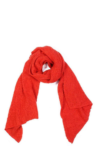 My Bargain Boutique Red Chic Fashion Solid Scarf