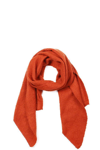 My Bargain Boutique Rust Chic Fashion Solid Scarf