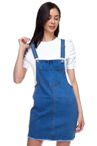 Image of My Bargain Boutique S Mini Denim Overalls