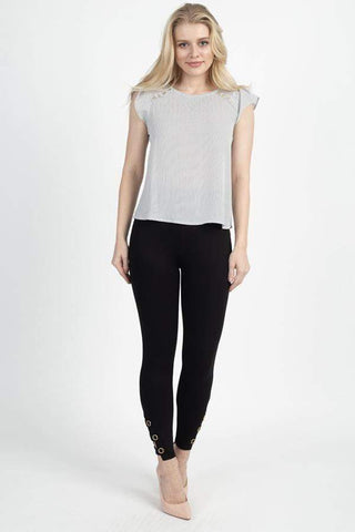 Image of My Bargain Boutique S Strappy Skinny Pants