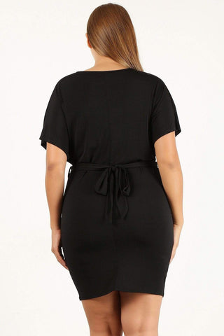 My Bargain Boutique Solid Bodycon Dress