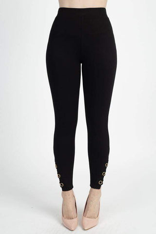 Image of My Bargain Boutique Strappy Skinny Pants