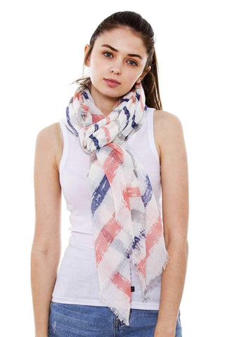 My Bargain Boutique Striped Oblong Scarf