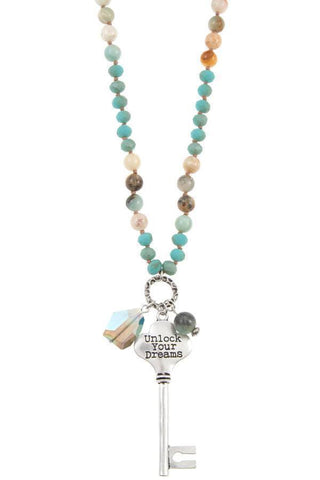 Image of My Bargain Boutique Unlock your dream beaded necklace set