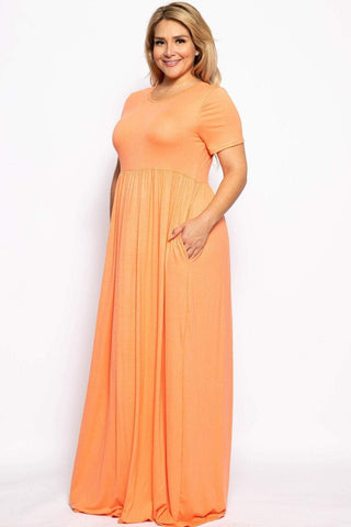 Image of My Bargain Boutique Vibrant Maxi Dress