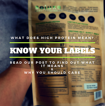What is High Protein? Know Your Labels!