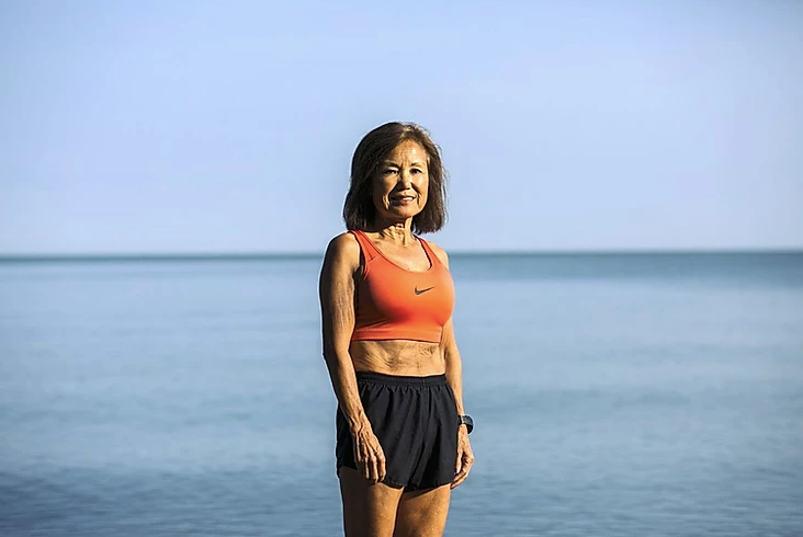At 71, She's Breaking Marathon Records