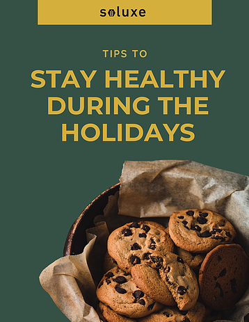 Staying healthy during the holiday season 🎄