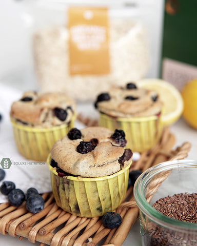Soluxe Vegan Blueberry Muffin
