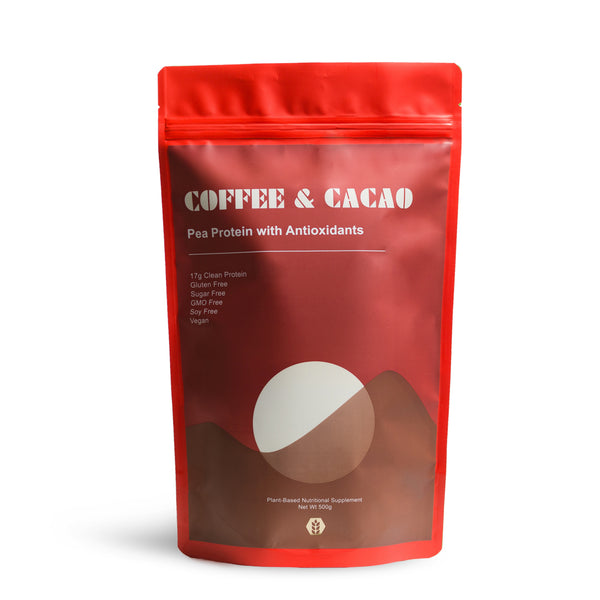 Pea Protein Isolate - Coffee & Cacao
