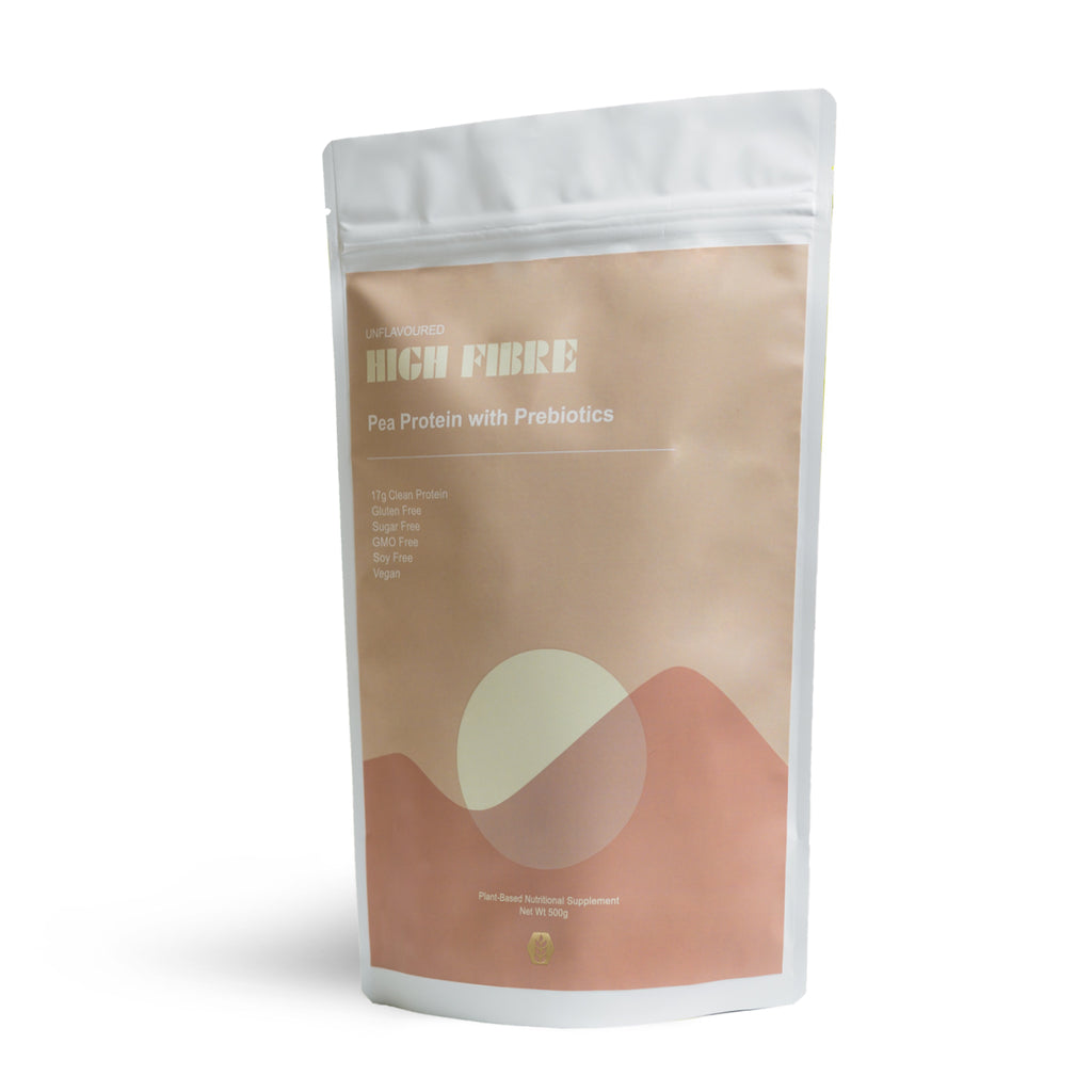 Pea Protein Isolate - High Fibre (Unflavoured)