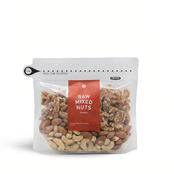 Raw Mixed Nuts (unsalted) - 450g
