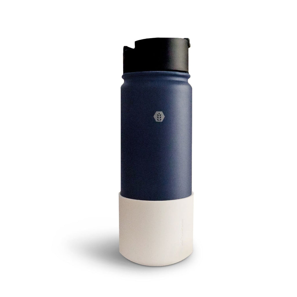 Solid Matte Blue Thermal Shaker Flask 550ml