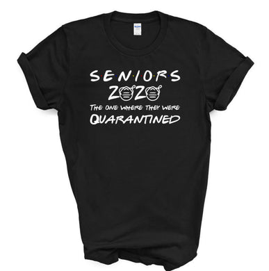 Seniors 2020 Quarantine Facemask