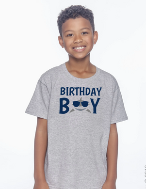 Birthday Boy Shark Shirt