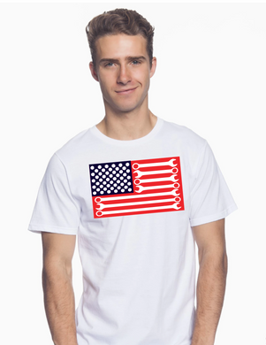 Wrench Flag Shirt