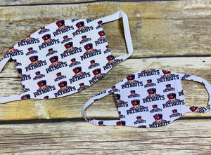 PCHS Patriots Face Masks