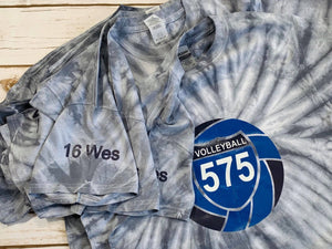 Volleyball 575 TieDyed NY Tourney Tees