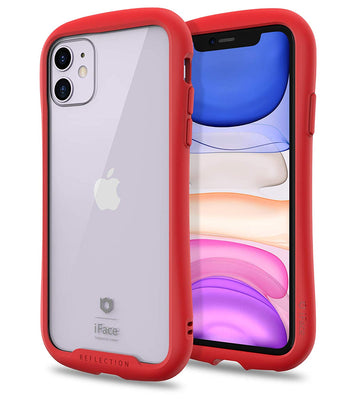Reflection Tempered Glass Bumper Case for iPhone 11