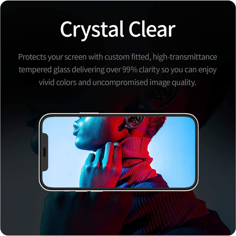 "Tempered Glass Screen Protector for iPhone 12 / 12 Pro (6.1"")"