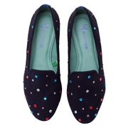 Mocassim Loafer Camurça Like Star Azul