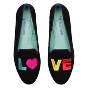 Mocassim Loafer Camurça Love Colors Preto