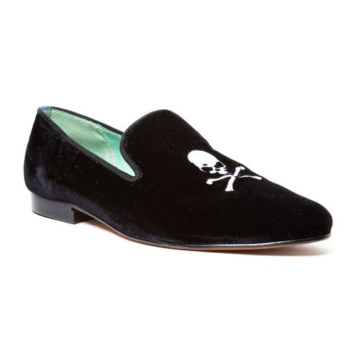 LOAFER SKULL VELUDO