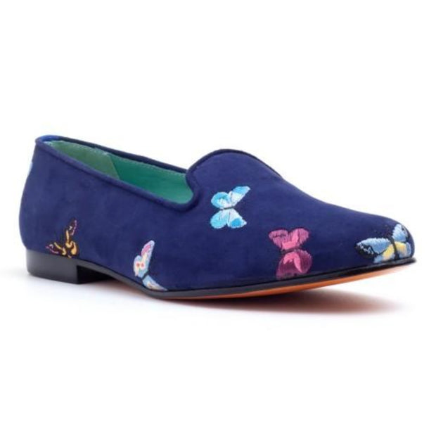 LOAFER BUTTERFLIES SUEDE