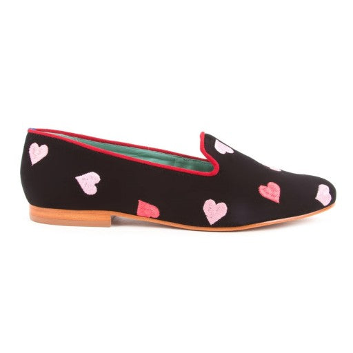 LOAFER HEARTS CAMURÇA PRETO