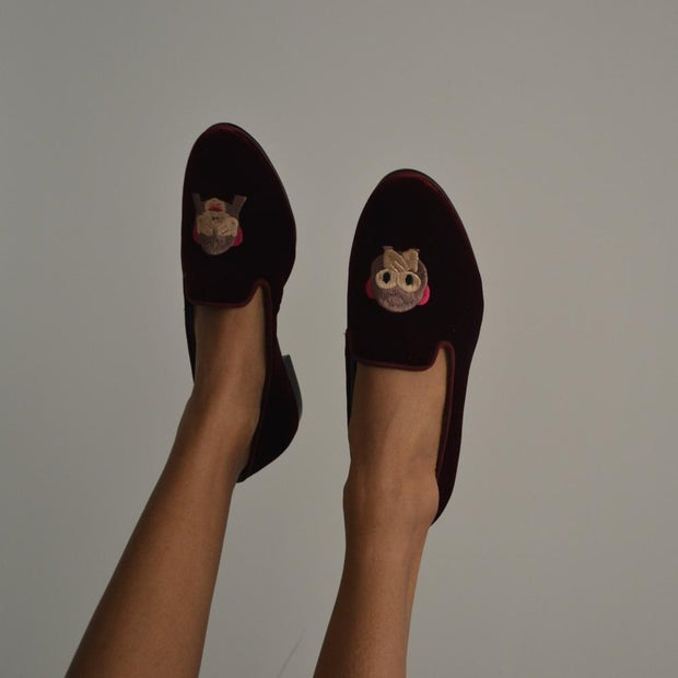 LOAFER MONKEY VELUDO