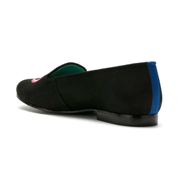 Mocassim Loafer Nobuck New Love Preto