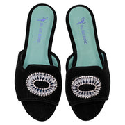 Shower flat Strass Veludo