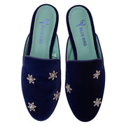 Slip on Night Stars Veludo