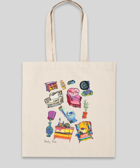'kitchen sink' tote