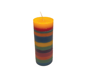 'Over the Rainbow' Candle
