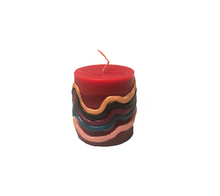 Load image into Gallery viewer, 'waves' candle